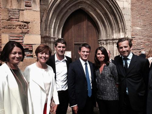 Inauguration du Presbytère de Martres Tolosane